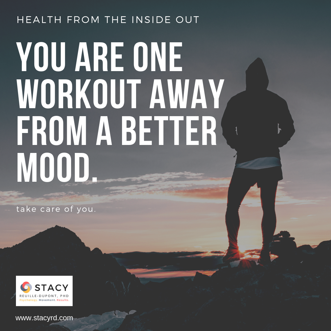 Want to Change Your Mood … Workout