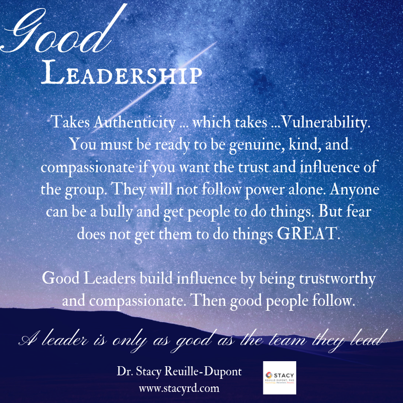 What Makes a Good Leader? Vulnerability.