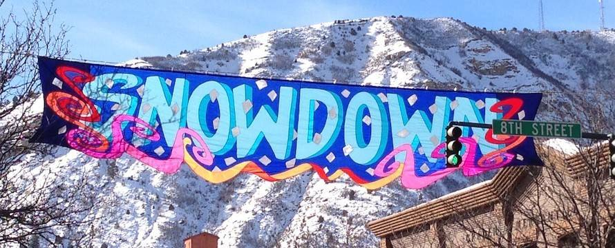 Snowdown Durango Sign
