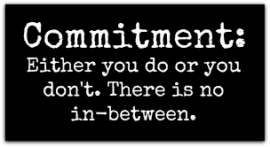 Are You Ready To Commit?